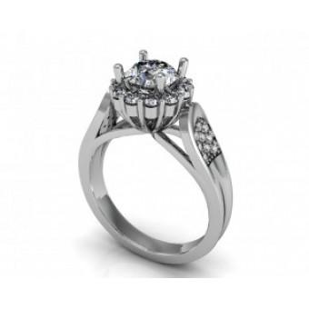 Помолвочные кольца на заказ. Модель Os 2533