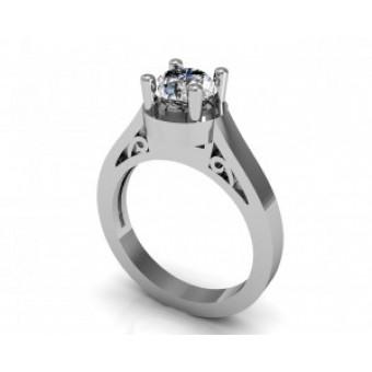 Помолвочные кольца на заказ. Модель Os 2534