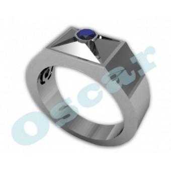 Мужские кольца на заказ. Модель Os 3001