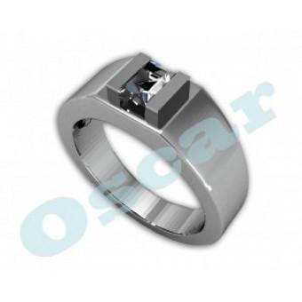 Мужские кольца на заказ. Модель Os 3002