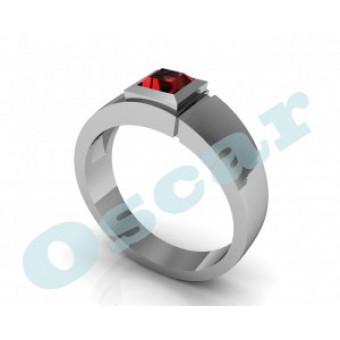 Мужские кольца на заказ. Модель Os 3004