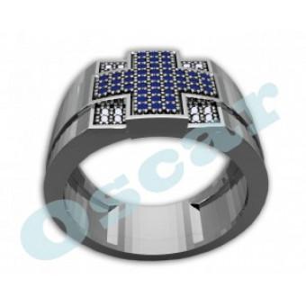 Мужские кольца на заказ. Модель Os 3005