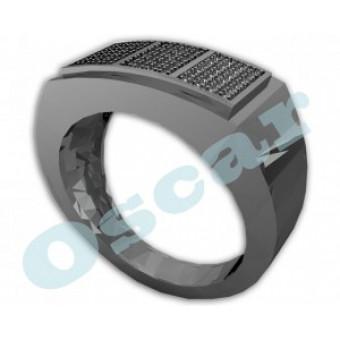 Мужские кольца на заказ. Модель Os 3006