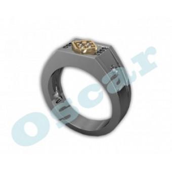 Мужские кольца на заказ. Модель Os 3008