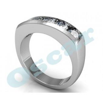 Мужские кольца на заказ. Модель Os 3012