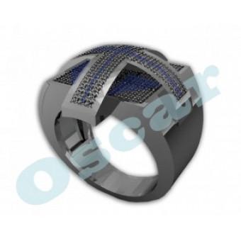 Мужские кольца на заказ. Модель Os 3017