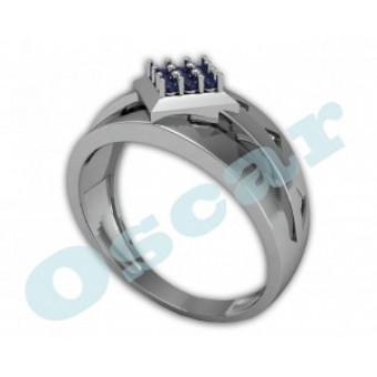 Мужские кольца на заказ. Модель Os 3019