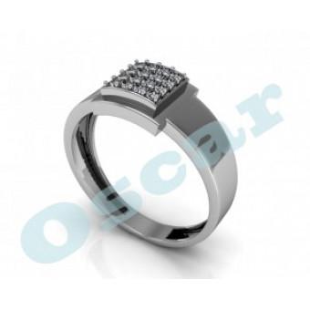 Мужские кольца на заказ. Модель Os 3020