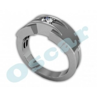 Мужские кольца на заказ. Модель Os 3021