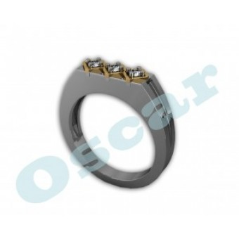 Мужские кольца на заказ. Модель Os 3023