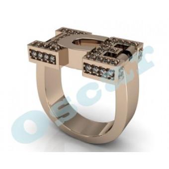 Мужские кольца на заказ. Модель Os 3025