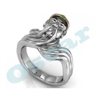 Мужские кольца на заказ. Модель Os 3028