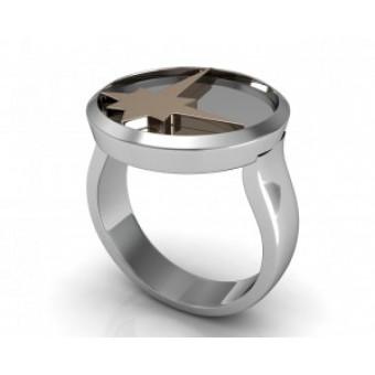 Мужские кольца на заказ. Модель Os 3037