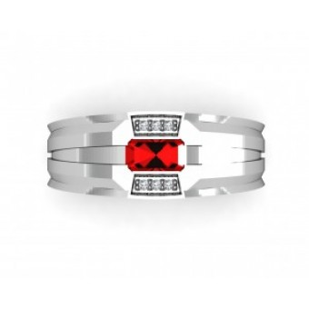 Мужские кольца на заказ. Модель Os 3039