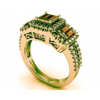 Мужские кольца на заказ. Модель Os 3042