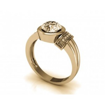 Мужские кольца на заказ. Модель Os 3043