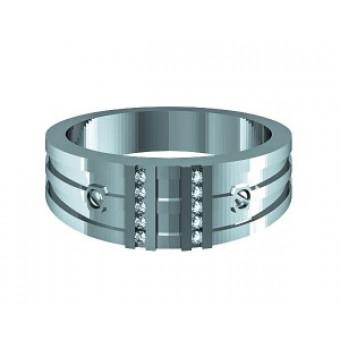 Мужские кольца на заказ. Модель Os 3049