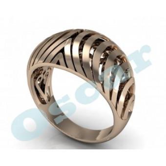 Дизайнерские кольца на заказ. Модель Os 7006