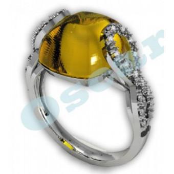 Дизайнерские кольца на заказ. Модель Os 7011