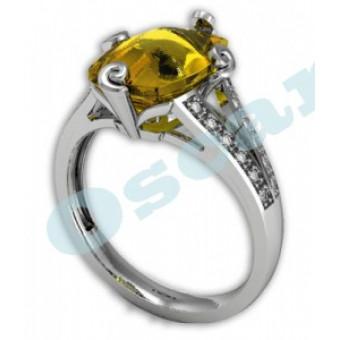 Дизайнерские кольца на заказ. Модель Os 7025