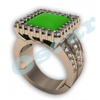 Дизайнерские кольца на заказ. Модель Os 7030