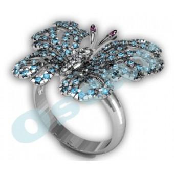 Дизайнерские кольца на заказ. Модель Os 7035