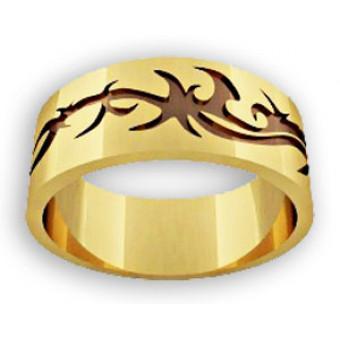 Обручальные кольца на заказ. Модель вк040
