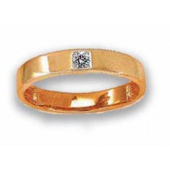 Обручальные кольца на заказ. Модель вк103