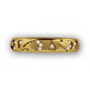 Обручальные кольца на заказ. Модель вк155
