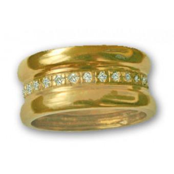 Обручальные кольца на заказ. Модель вк183