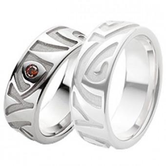 Обручальные кольца на заказ. Модель вк209_15
