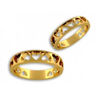 Обручальные кольца на заказ. Модель вк258