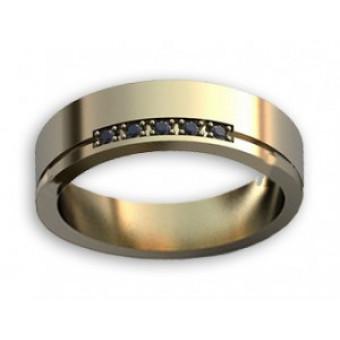 Обручальные кольца на заказ. Модель вк268