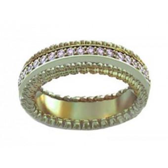 Обручальные кольца на заказ. Модель вк289