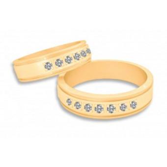 Обручальные кольца на заказ. Модель вк325