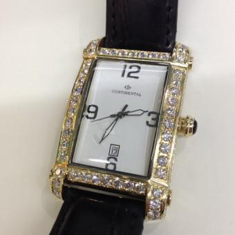 Оправа для часов усыпанная бриллиантами