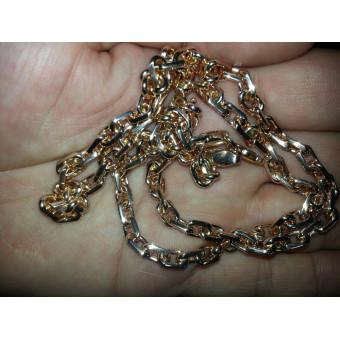 Золотая цепь Якорь 45 грамм, 585 пробы на заказ