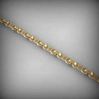 Цепь золотая эксклюзивная C-EXS-46