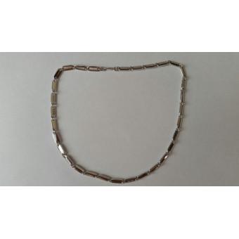 Золотая цепь Картье  46 грамм из белого золота 585 пробы на заказ