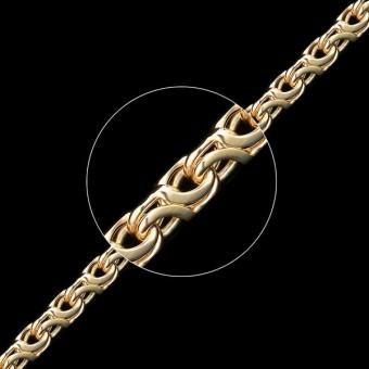 Цепь золотая плетение Восьмерка