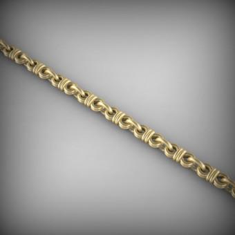 Цепь золотая эксклюзивная C-EXS-48