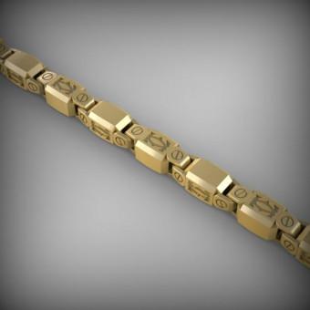 Цепь золотая эксклюзивная C-EXS-31