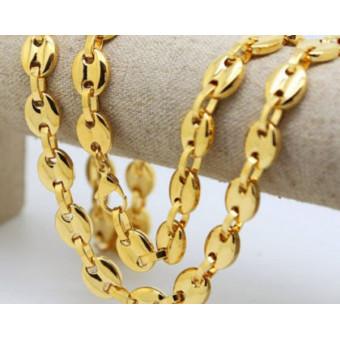 Золотая цепочка Gucci (Гучи) из золота 585 пробы на заказ