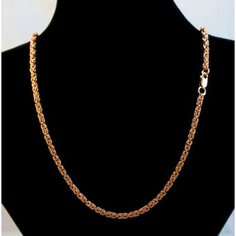 Цепь золотая Лисий хвост классический на заказ
