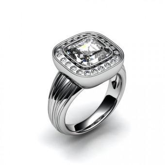 Женские кольца на заказ. Модель К-1013