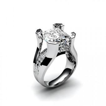 Женские кольца на заказ. Модель К-1016