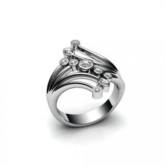 Женские кольца на заказ. Модель К-1018
