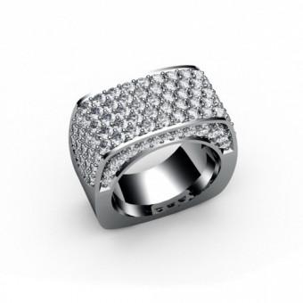 Женские кольца на заказ. Модель К-1021