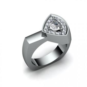 Женские кольца на заказ. Модель К-1022