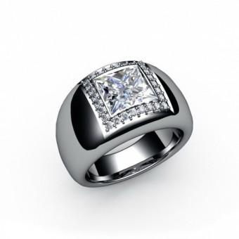 Женские кольца на заказ. Модель К-1025